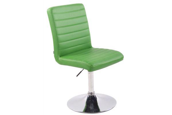 Stuhl Elva Kunstleder grün
